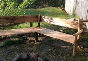 Ako vyrobiť veľkú záhradnú lavicu